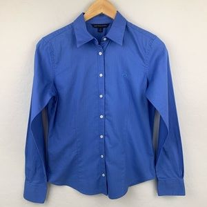 Brooks Brothers 346 blue button down shirt sz 4